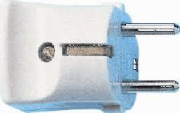 Kopp strekker wit plastic