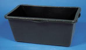 Vat 90 liter rechthoekig LxBxH 78x52x32 cm