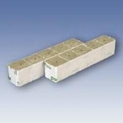 Grodan steenwolblok 4x4 cm 2250 stuks per doos