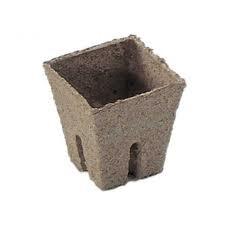 Jiffy pot vierkant 8x8x8 cm 1200 stuks per doos
