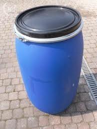 Vervoerston 150 liter luchtdichtblauw