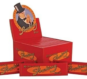 Vloei Smoking Rood 50 stuks per doos