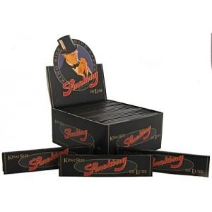Vloei Smoking De luxe zwart 50 stuks per doos