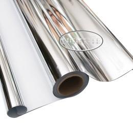 Reflectie Folie Zilver-Wit 125cm x 100m