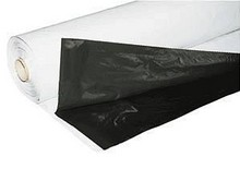 Zwart-Wit folie op rol 2 x 25 meter 70 mu dik
