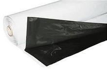 Zwart-Wit folie op rol 10 x 50 mter 150 mu dik