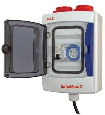 D.A.T. Switchbox 2 max 10 amp