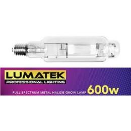 Lumatek Full Spectrum Metal Halide Lamp 600w