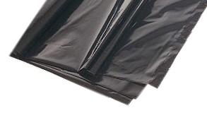 Aluminium Lucht dichte zak 45x56 zwart