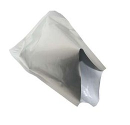 Aluminium Lucht dichte zak 45x56cm zilver