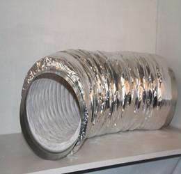 Semi flexible geluiddemper type Non-woven Insulated 250ø (1M)