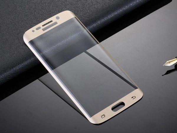 Samsung Galaxy S6 Edge Goud Glass Protection