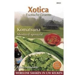 Buzzy Xotica Komatsuna Mosterd spinazie zaden (080423)
