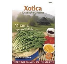Buzzy Xotica Mizuna Japanse salade zaden