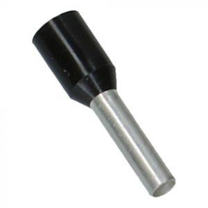 Zwart Adereindhuls 1.5mm² 500 stuks