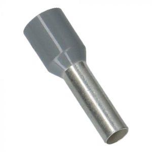 Grijs Adereindhulzen 4mm² 500 stuks